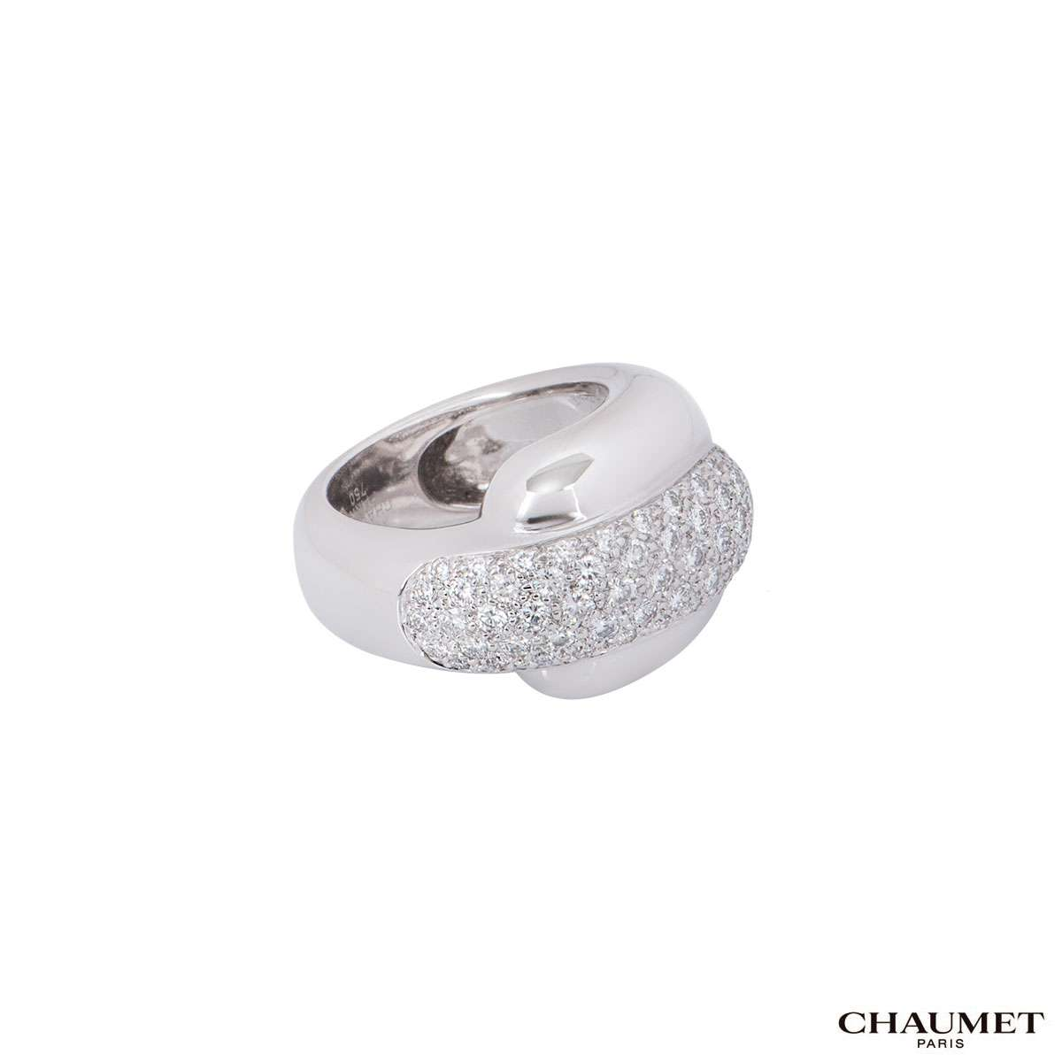 Chaumet White Gold Diamond Ring